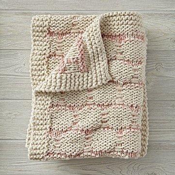 Royal Hippo Baby Blanket