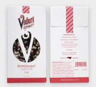 70% Peppermint Chocolate Bar, $7.50
