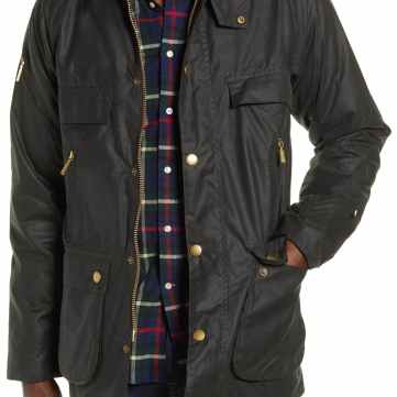 Barbour Icons Waxed Cotton, $545