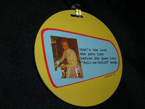 Luggage Tag, $5.95
