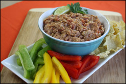 Turkey-rific Taco Bean Dip